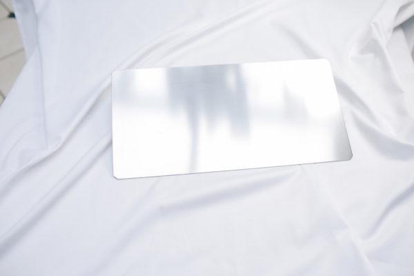Metallplatte 20 x 40 x 0,3 cm
