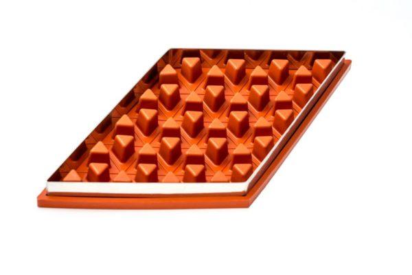 Zila Tortenform für 40 Dreiecke mit Metallplatte