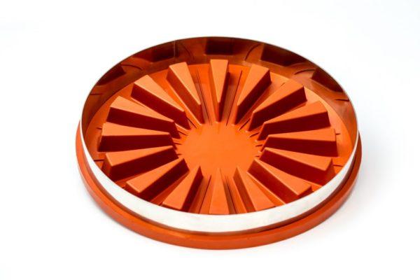 Zila Tortenform für 16 Stücke mit Metallplatte