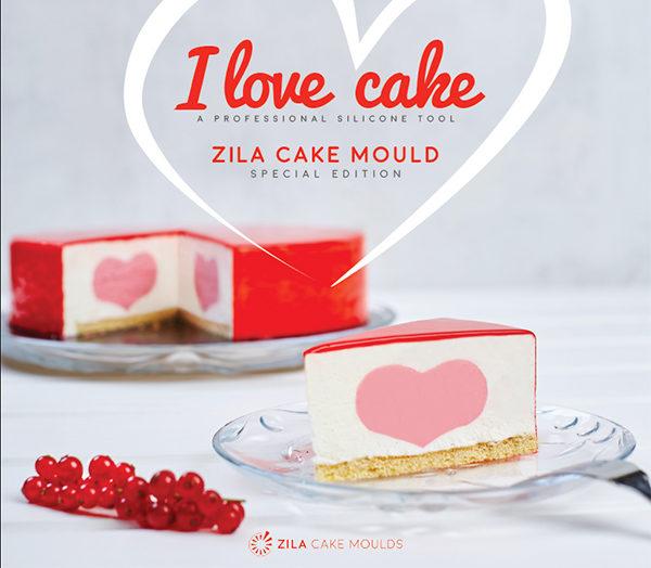 """""""I love cake"""" Silikonform"""